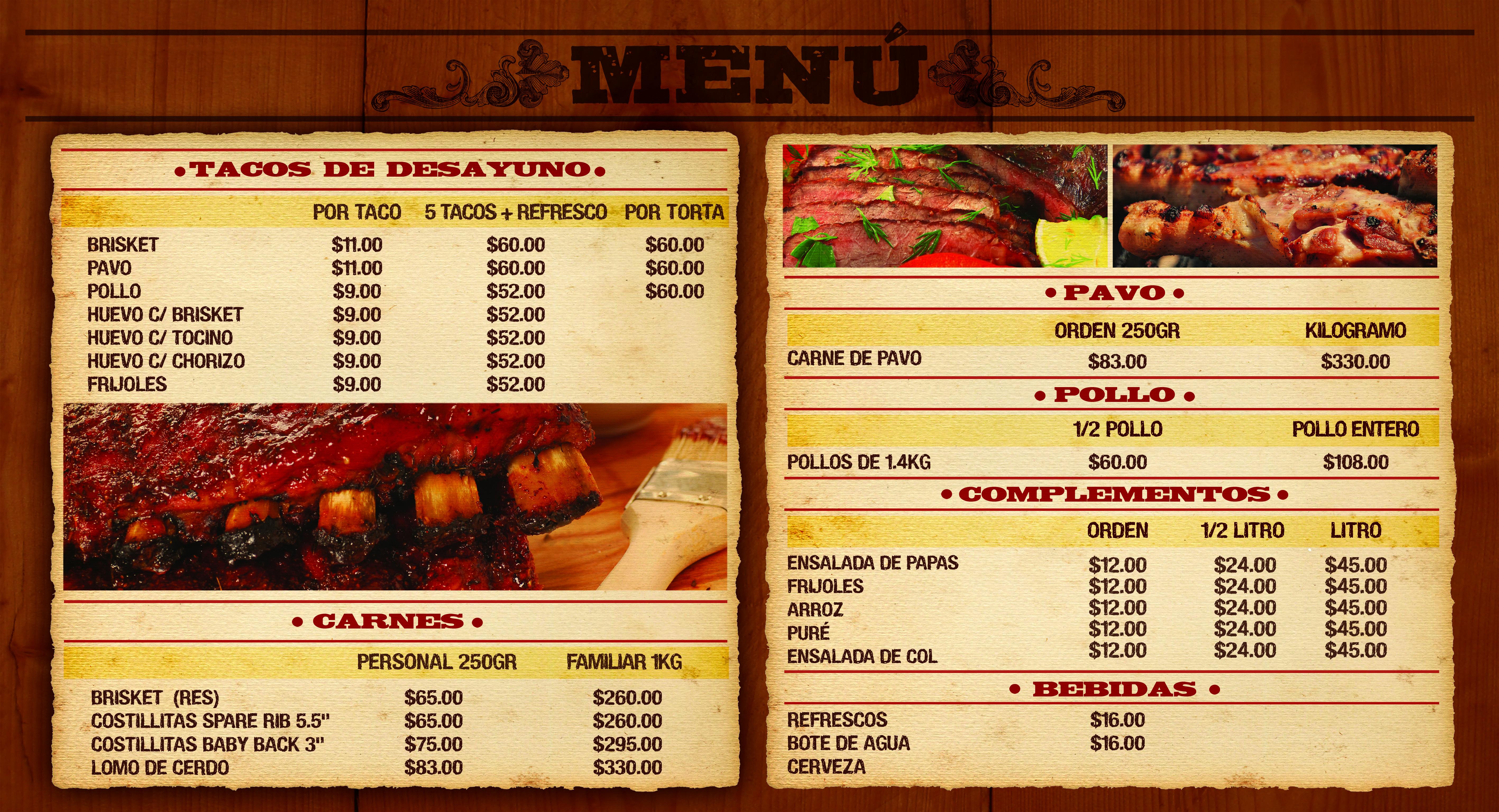 Dise o de men de restaurante for Disenos de menus para restaurantes